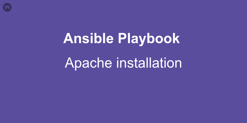 Apache installation using Ansible Playbook